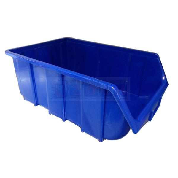1 x PVC Sichtlagerkasten Ecobox 115 blau