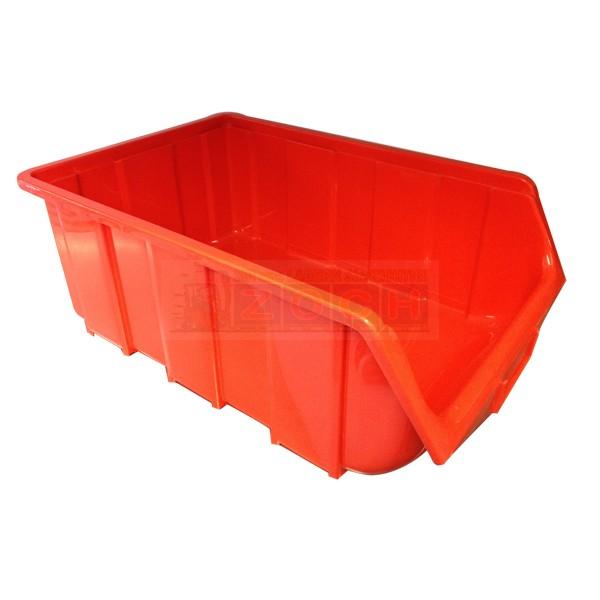 Ecobox 115 Lagerkasten rot Einzelansicht
