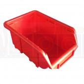 Ecobox 111 rot - Einzelansicht der Lagerkästen