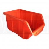 Ecobox 112 Rot - Lagerkasten Einzelansicht