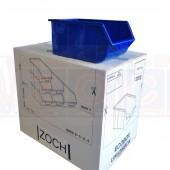 Ecobox 114 Blau - Lagerkasten Komplettverkauf im Karton